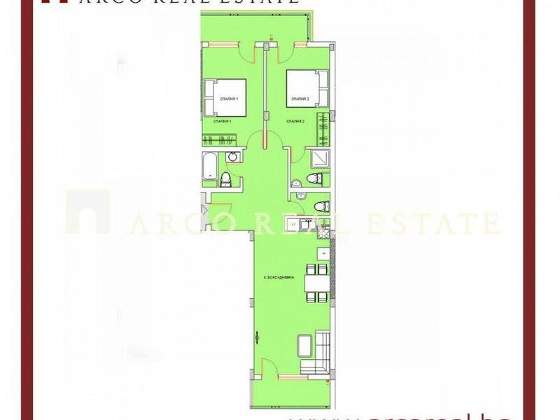 тристаен апартамент софия b88w2e2n