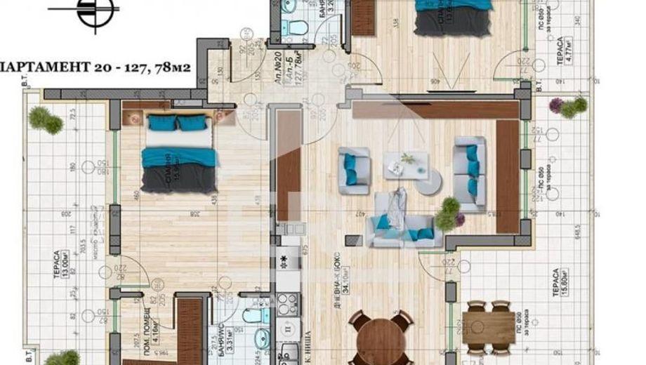 тристаен апартамент софия b8hqkaa9