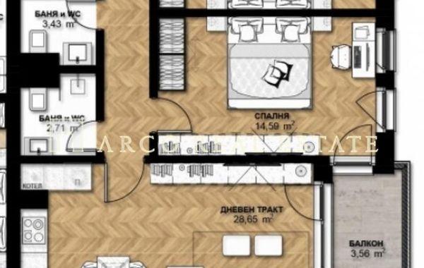 тристаен апартамент софия bb1vt8pt