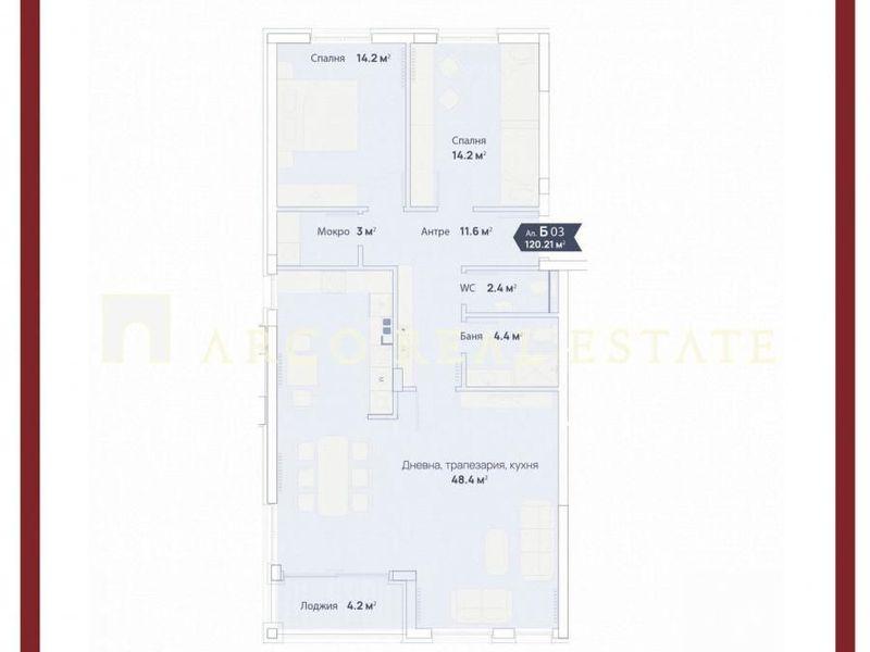 тристаен апартамент софия bcf765ns