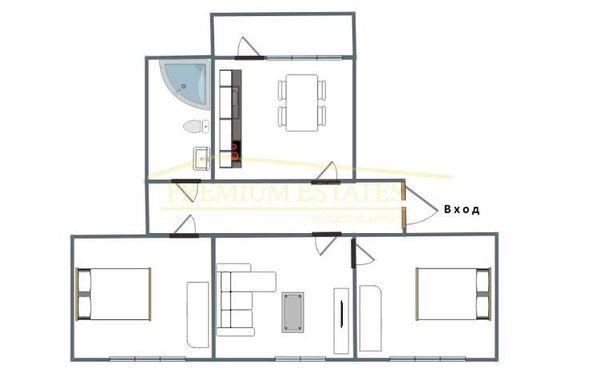 тристаен апартамент софия benc6cvd