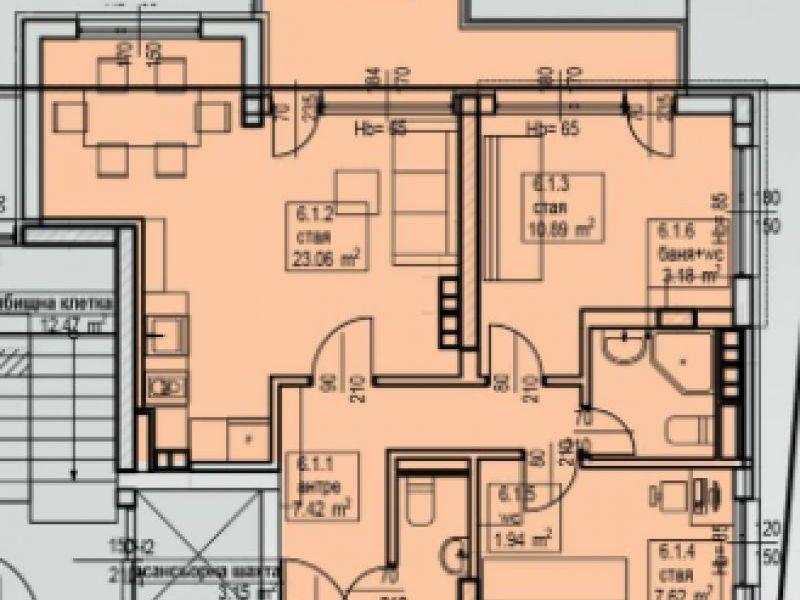 тристаен апартамент софия bl6grgmf