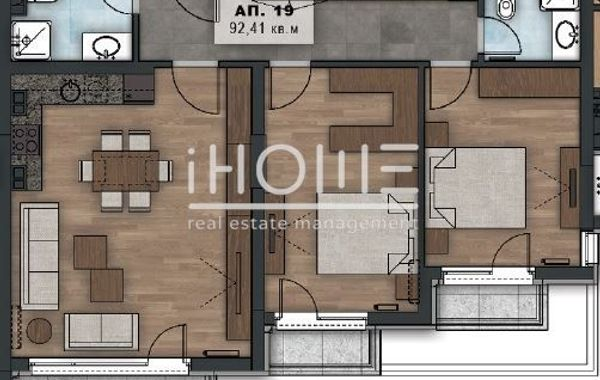 тристаен апартамент софия bsebj3d6