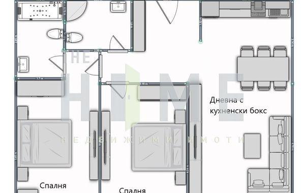 тристаен апартамент софия cbw6fa4k