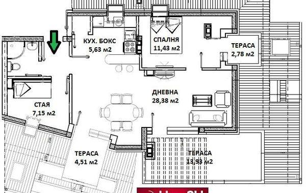 тристаен апартамент софия cdpkwc5v