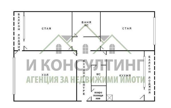 тристаен апартамент софия cnn7m1b2
