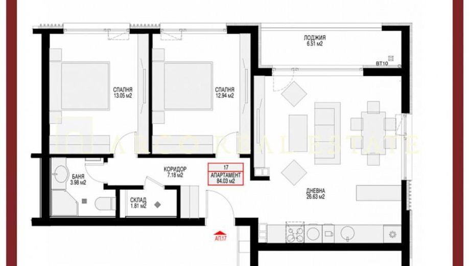 тристаен апартамент софия cu3sq1nu