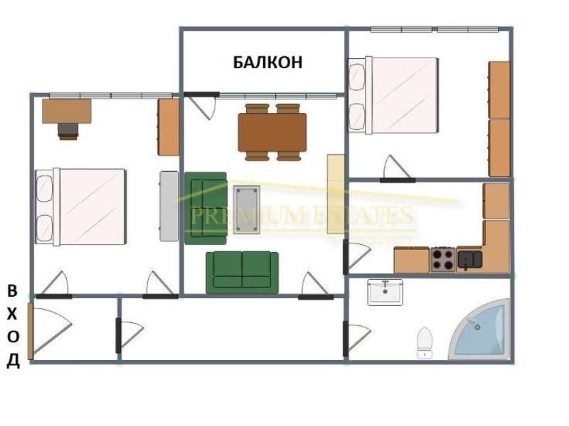 тристаен апартамент софия dc2afqfv