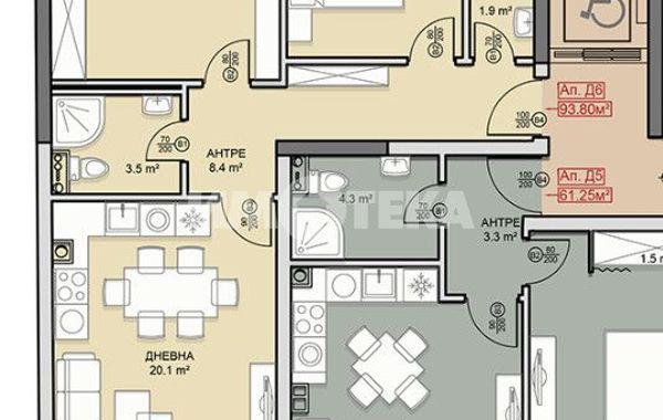 тристаен апартамент софия dgaubnyu