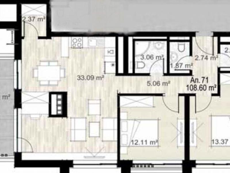 тристаен апартамент софия djm9yjrd