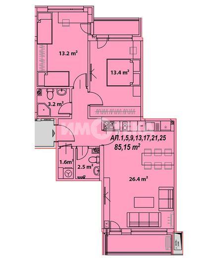 тристаен апартамент софия dxl72lgp