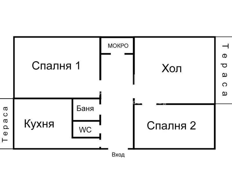 тристаен апартамент софия f16l2wgr