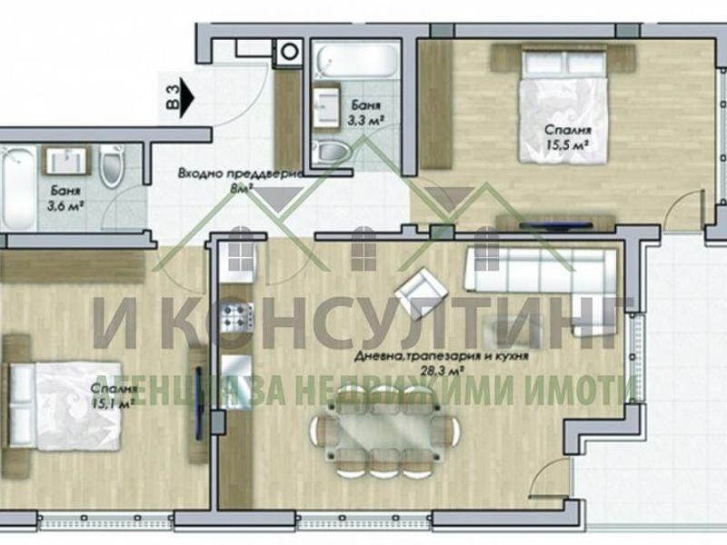 тристаен апартамент софия f9aqs1yl