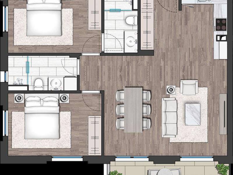 тристаен апартамент софия ffy6ns84