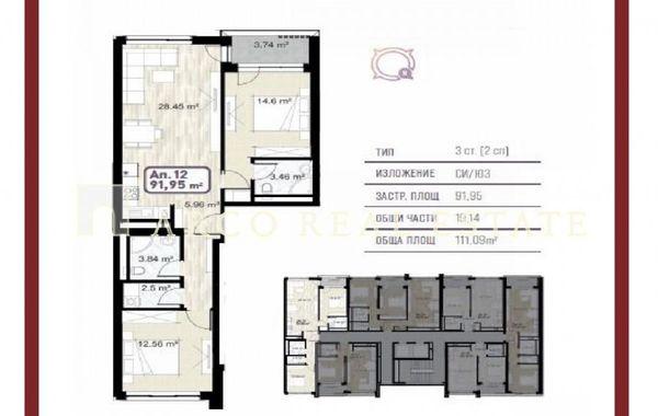 тристаен апартамент софия flqkfjgb
