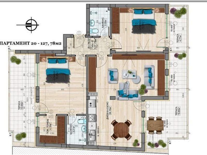 тристаен апартамент софия fncscg5j