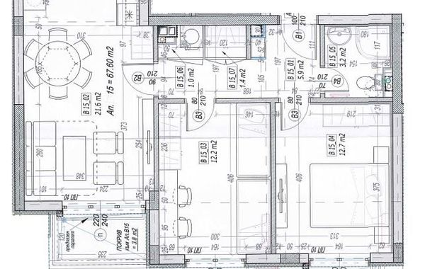 тристаен апартамент софия g55anpup