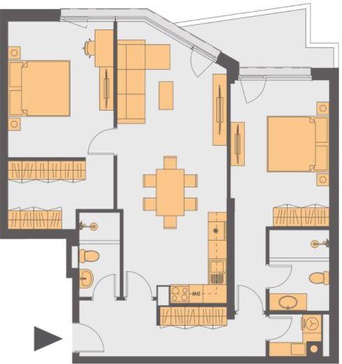 тристаен апартамент софия h23kl22k