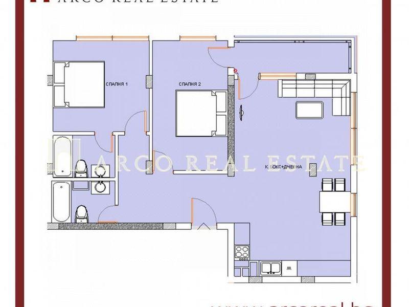 тристаен апартамент софия hatq6be1