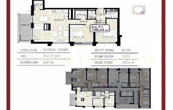 тристаен апартамент софия hl2me1r3