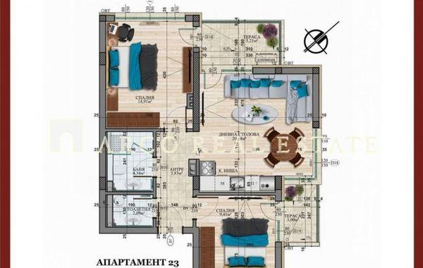 тристаен апартамент софия ju7lu3e2