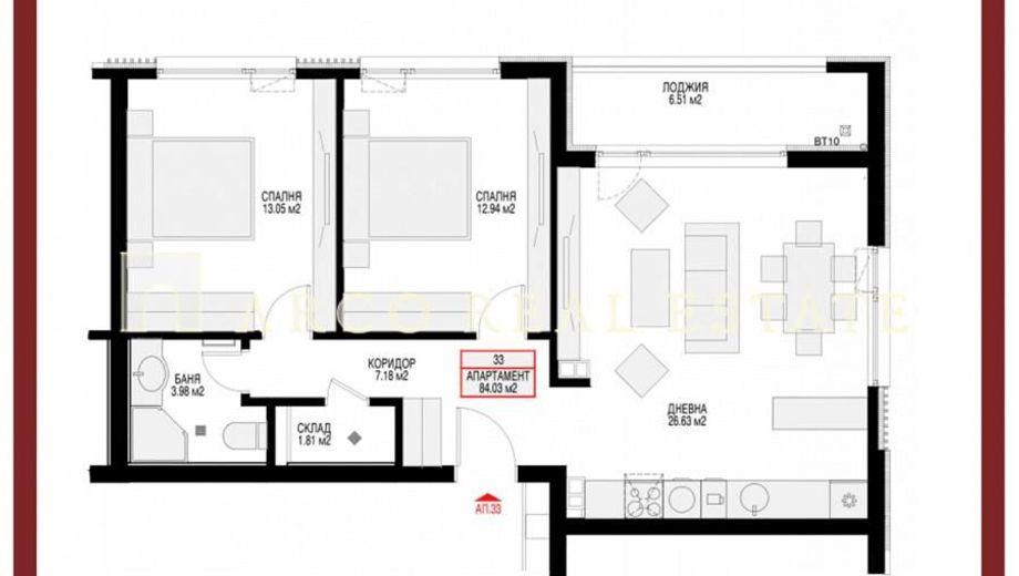 тристаен апартамент софия k6xe7xd4