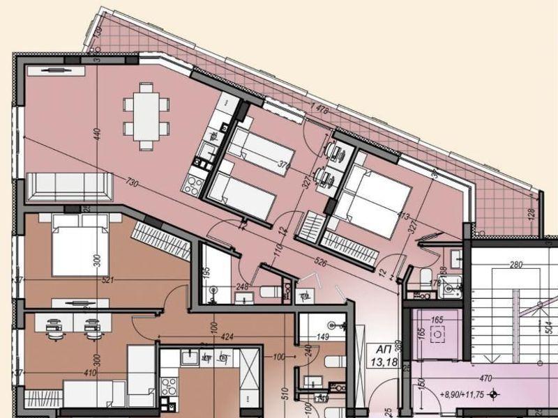 тристаен апартамент софия kca61car