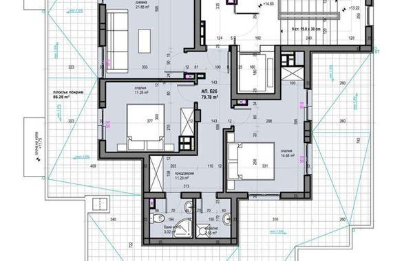 тристаен апартамент софия kk84mvbh
