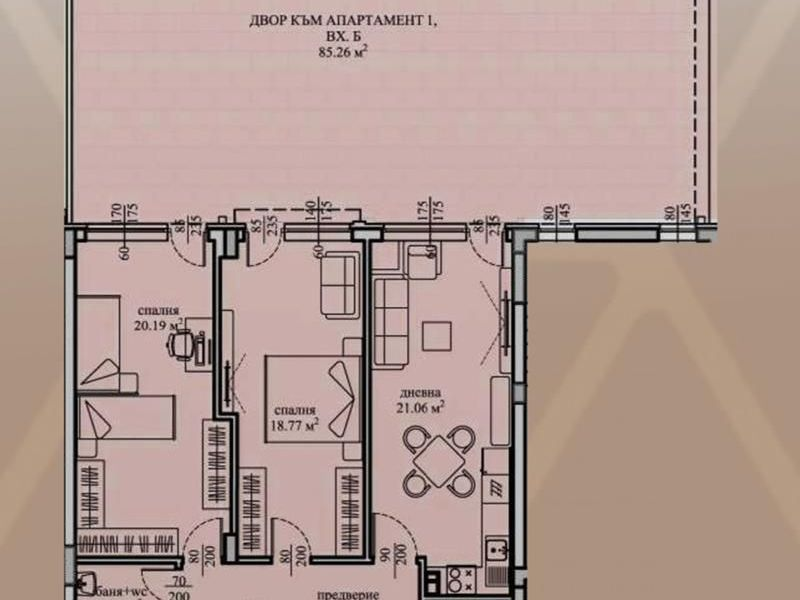 тристаен апартамент софия lm8fu347