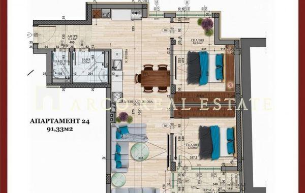 тристаен апартамент софия mar8dchd