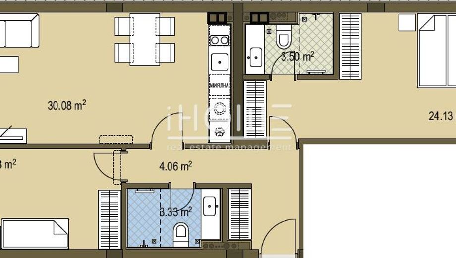 тристаен апартамент софия md6qe211