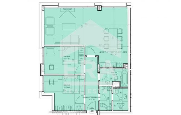 тристаен апартамент софия mju6v6rk