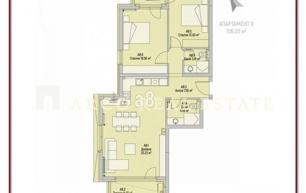 тристаен апартамент софия mncg6a38