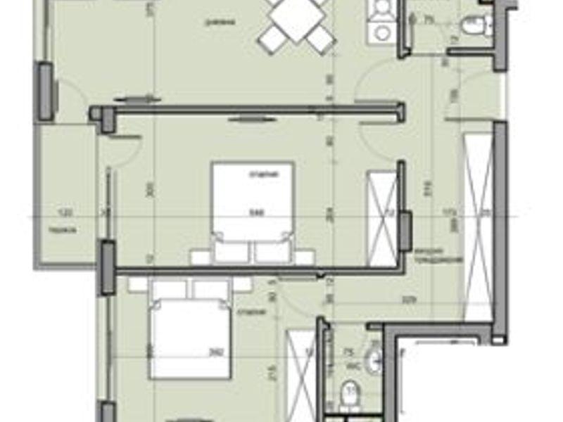 тристаен апартамент софия nh655x4c