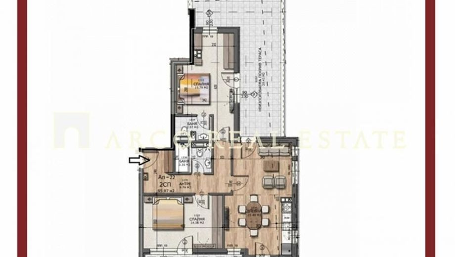 тристаен апартамент софия p7kcut1m