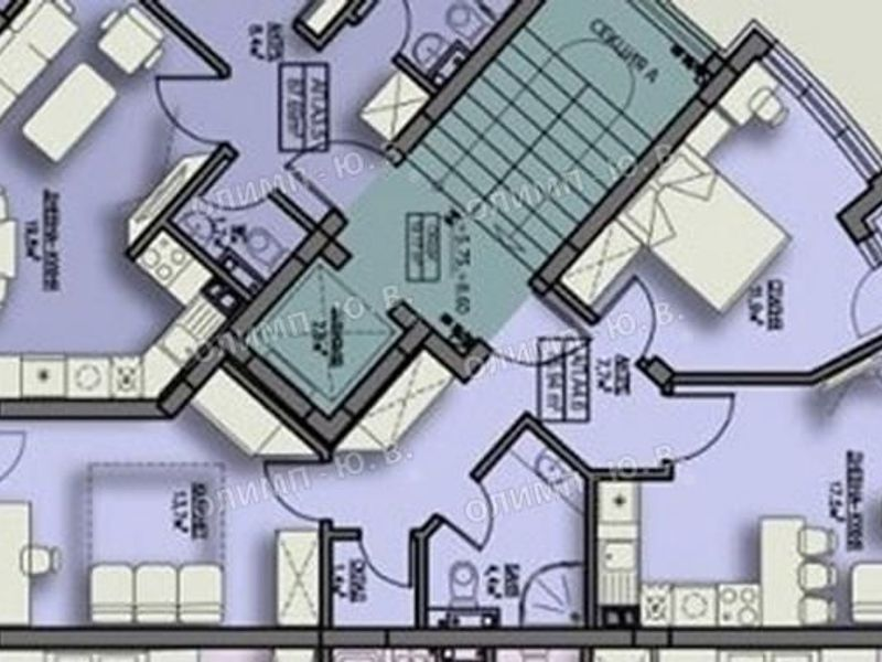 тристаен апартамент софия q34w35eq