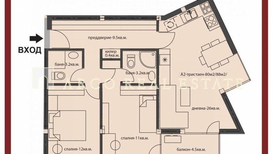 тристаен апартамент софия qe8hc1c6