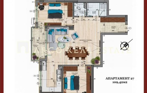 тристаен апартамент софия qpgfjs5v