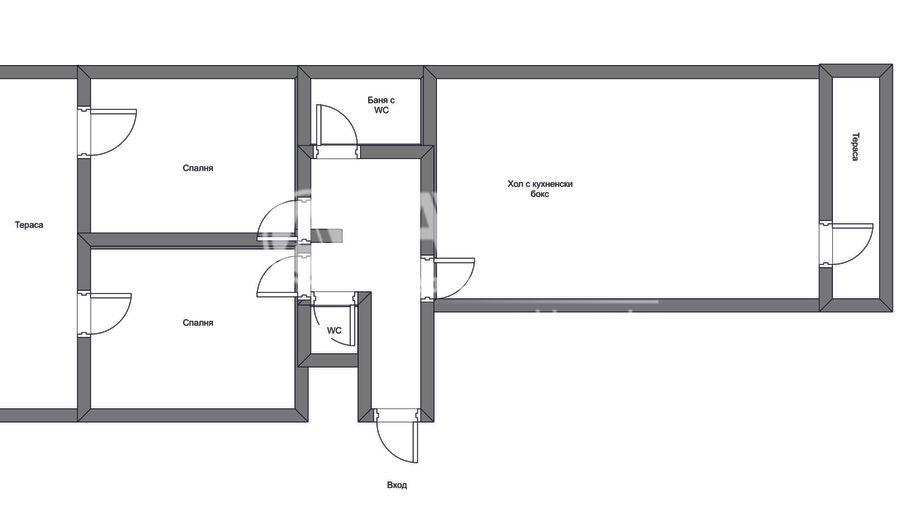тристаен апартамент софия rt2lmap2