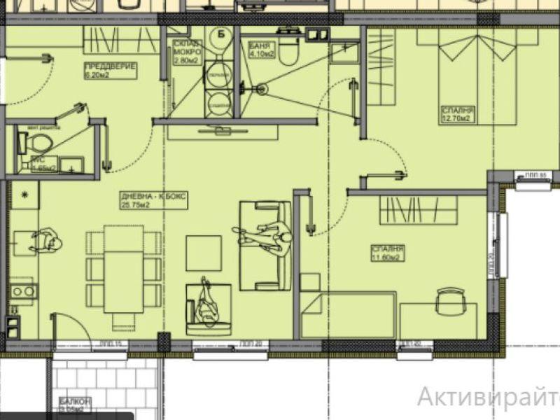 тристаен апартамент софия rvqujw64