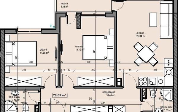 тристаен апартамент софия slg9tlmk