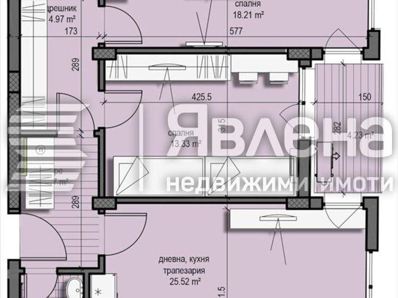 тристаен апартамент софия t6rxx68d
