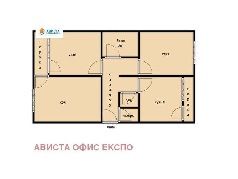 тристаен апартамент софия teg48hed