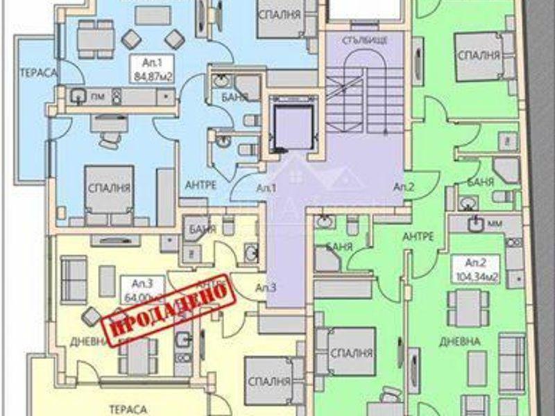 тристаен апартамент софия tkrwag7m