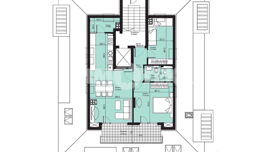 тристаен апартамент софия tpdc7e3b