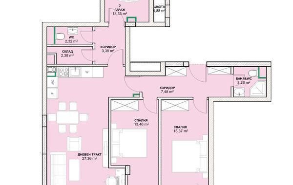 тристаен апартамент софия tpu29tsq