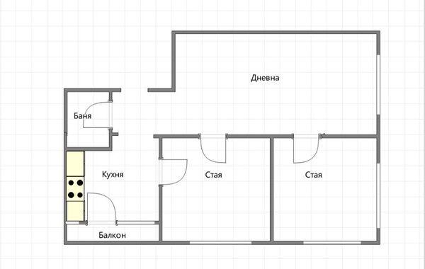 тристаен апартамент софия tvn78wnp