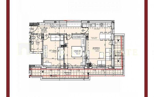 тристаен апартамент софия v46v6aw3