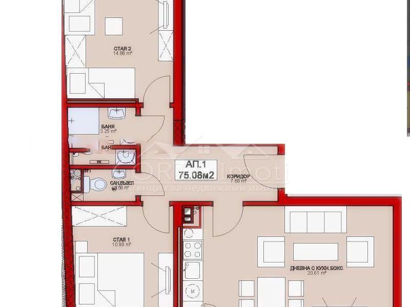 тристаен апартамент софия vdtmlwh9