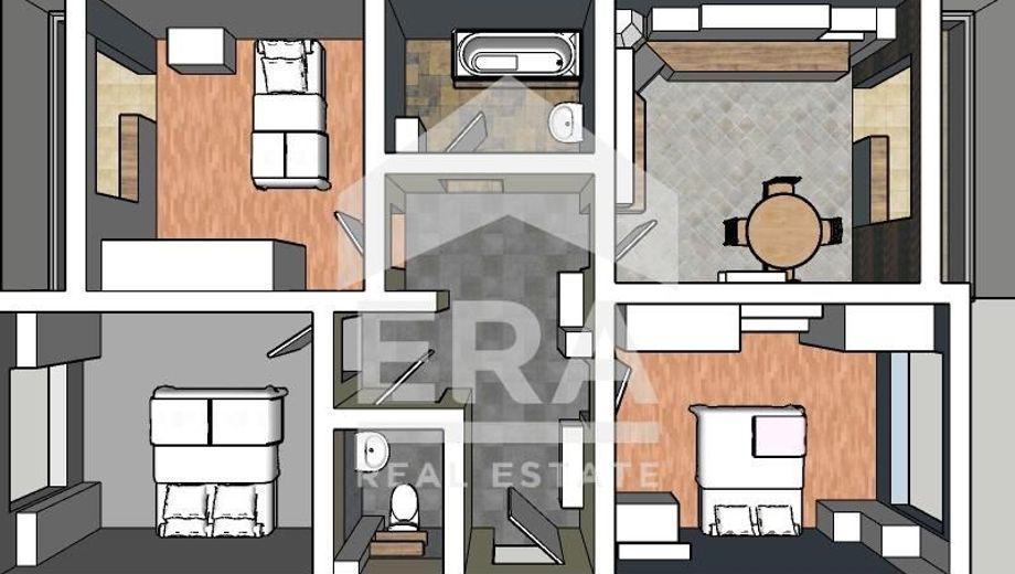 тристаен апартамент софия w1a13fsy